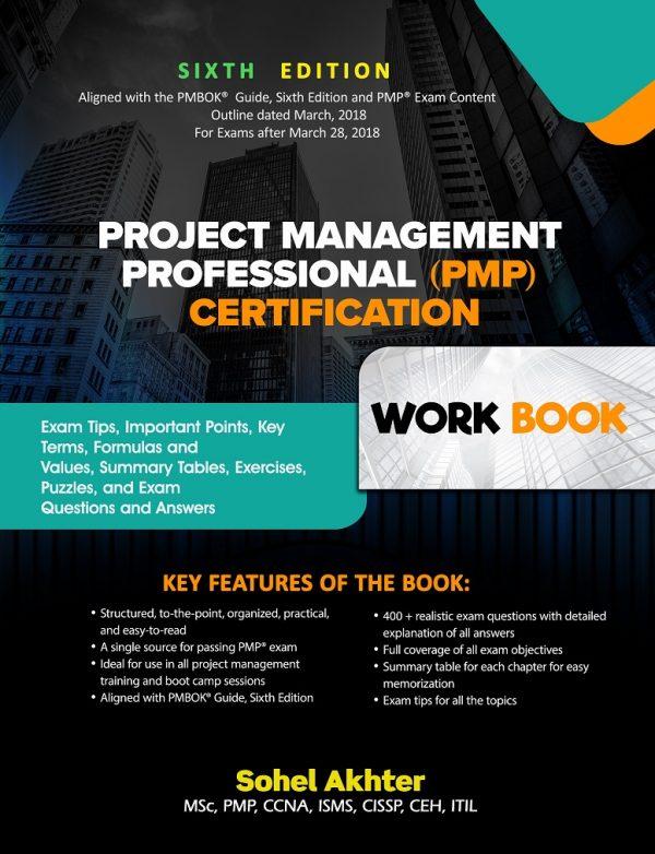 Project Management Professional Pmp Certification Exam Prep Workbook